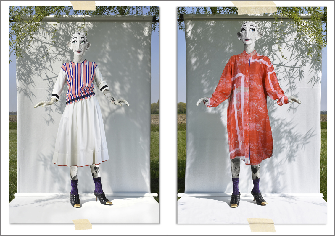 Rohka sleeve jumper and skirt + shirt dress - Summer 2020 collection