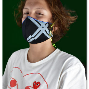 Mako Dots Face Mask by Rohka