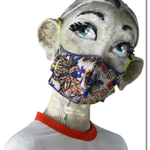 Millefleurs Face Mask by Rohka